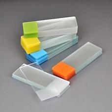 Стёкла предметные с цветным полем